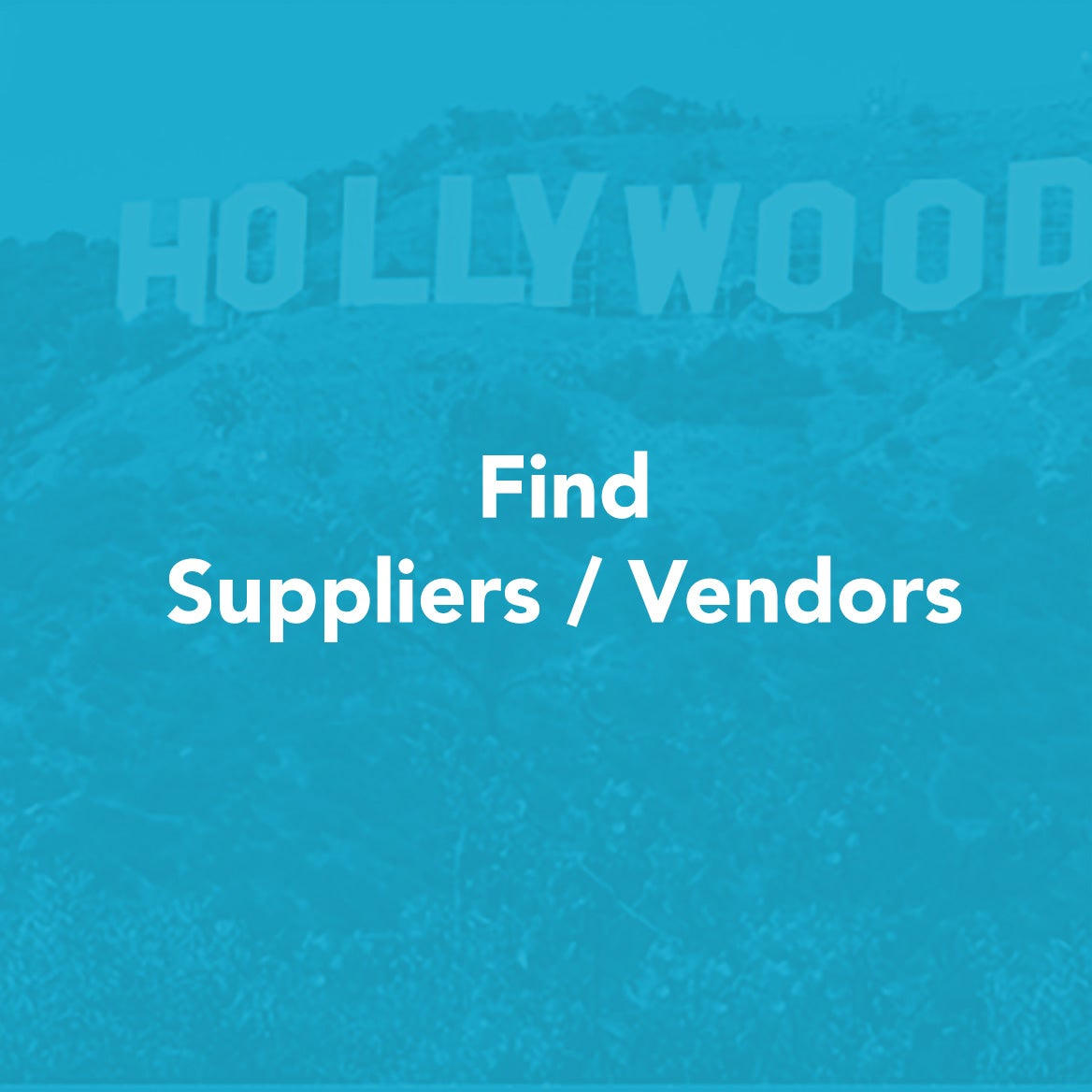 Find Suppliers / Vendors