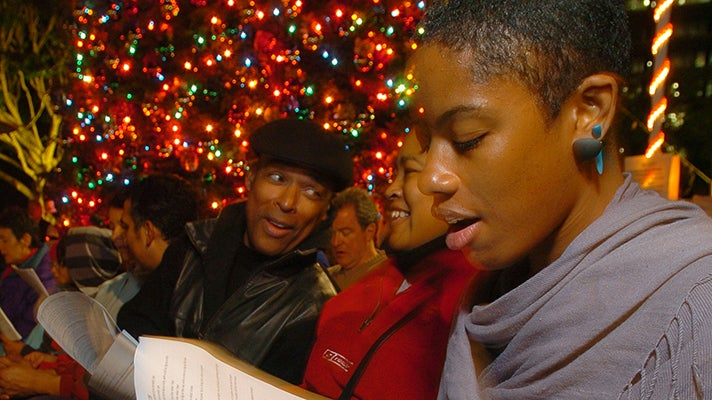 The Music Center Holiday Sing-Along