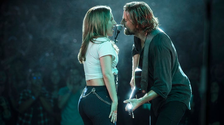"""Lady Gaga and Bradley Cooper perform """"Shallow"""" in """"A Star Is Born"""""""