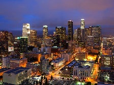 Downtown L.A. skyline