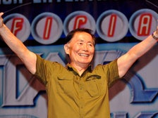 George Takei at a Star Trek convention in Las Vegas