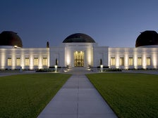 Griffith Observatory at night