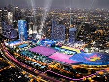 Rendering of Downtown Sports Park at L.A. LIVE and Los Angeles Convention Center