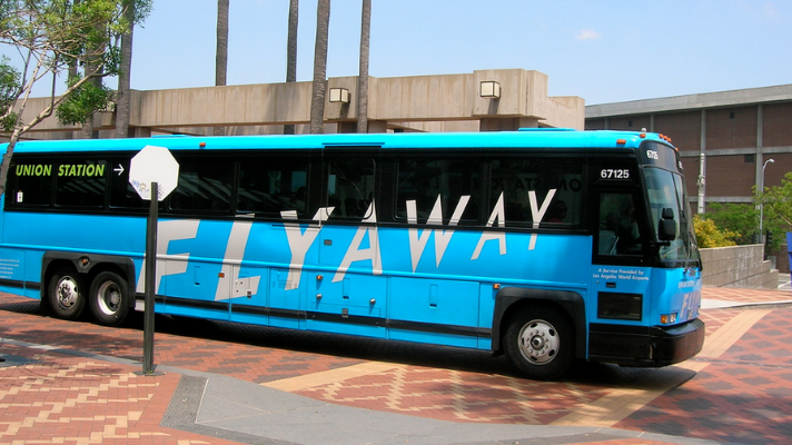 LAX FlyAway Bus from Union Station