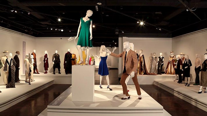 """""""La La Land"""" costumes by Mary Zophres at FIDM Museum"""