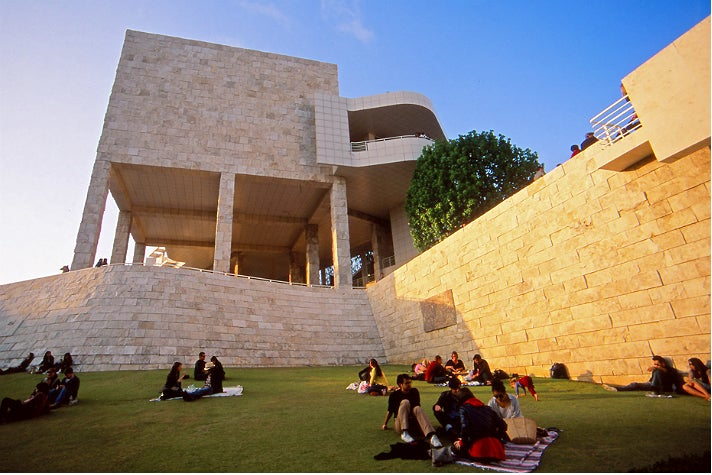 Sunset picnics at the Getty Center