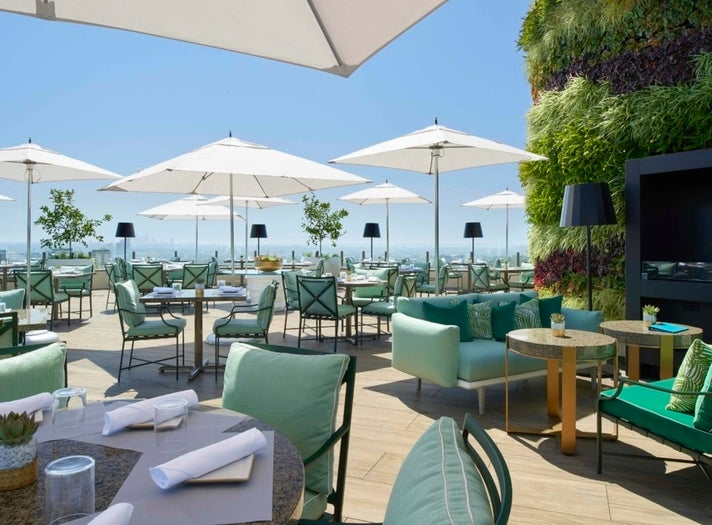 The Rooftop by JG at Waldorf Astoria Beverly Hills