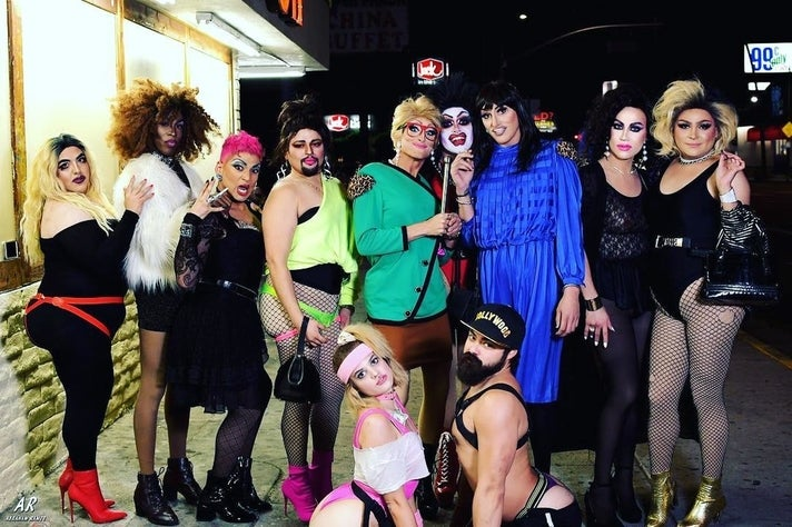 """Exposure """"Ladies of the 80s"""" at The Offbeat"""