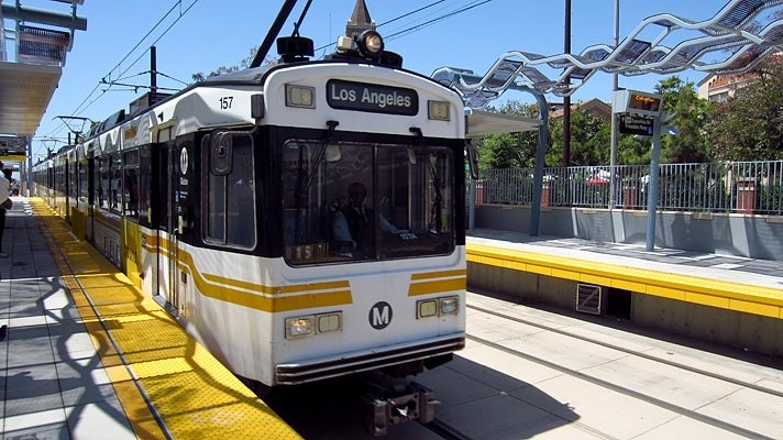 Expo Park/USC Station on the Metro Expo Line