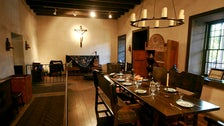 Avila Adobe dining room