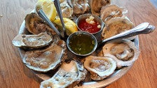 Eastern oysters at EMC Seafood & Raw Bar