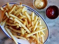 Clarified butter frites at Petit Trois