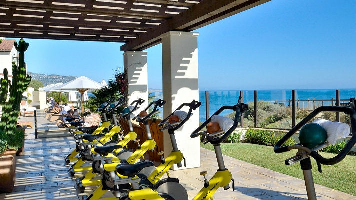Seaside cycling at Terranea Resort