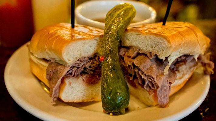 French Dip at Cole's