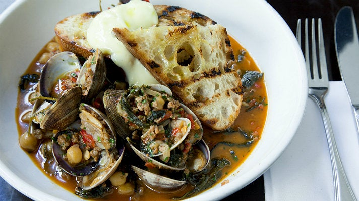 Clams at The Hungry Cat