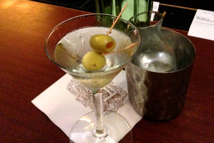 Classic Martini at Musso & Frank Grill