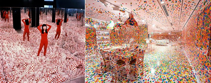 """Yayoi Kusama: Infinity Mirrors"" at The Broad"