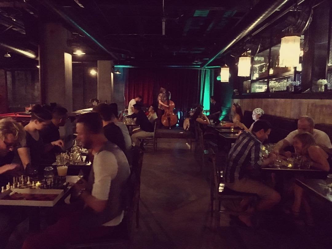 Jazz and chess at the Rhythm Room