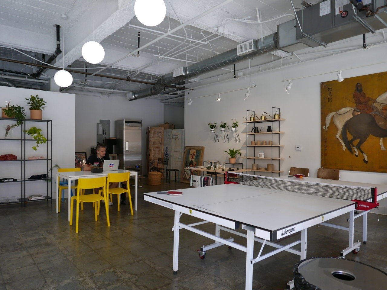 Coffee Hall in Chinatown